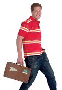 UC120 Multi Stripe Jersey Polo Shirt