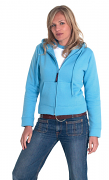 UC505 Ladies Classic Full Zip Hooded Sweatshirt
