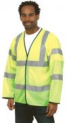 UC802 Long Sleeve Safety Waistcoat
