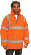 UC803 Road Safety Jacket (Padded & Lined)