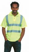 UC805 High Visibility Poloshirt