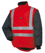 73374 Potsdam Red Hi Vis Liner by Helly Hansen Workwear