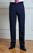 BR064 Men's Delta Single Pleat Trouser