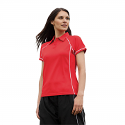 LV371 Women's Piped Polo
