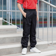LV839 Kids Lined Cuff Microfibre Track Pant