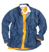FR13M Long sleeve denim shirt