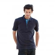 FR200 Contrast Pique polo Shirt