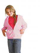 GD58B Heavyweight blend youth full zip hooded sweatshirt