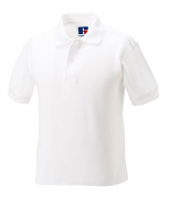 J599B Kid's hardwearing poly/cotton polo