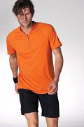 KS035 Zip Neck T-Shirt