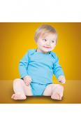 LW52T Long Sleeve Baby Bodysuit