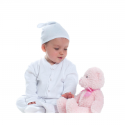 LW91T Baby Top Knotted Hat