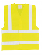 PW002 Hi-Vis Two Band & Brace vest (C470)