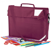 QD457 Junior book bag with strap