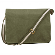 QD610 Vintage canvas despatch bag