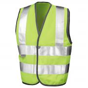 RE21J Kid's safeguard high-viz vest EN1150 C2 Approved