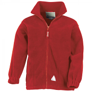RE36J Kid's Full Zip Active Fleece Jacket
