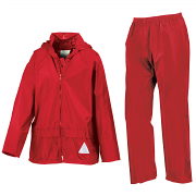 RE95J Junior heavyweight waterproof jacket/trouser suit