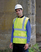 HV076 High visibility bodywarmer