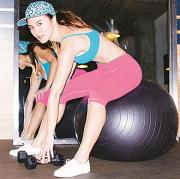 Knee length fitness pants (RSAAK304)