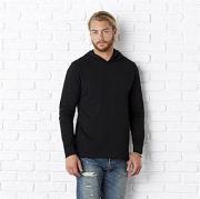 Unisex jersey long sleeve hoodie