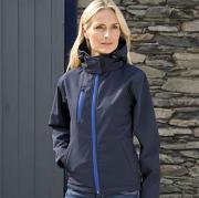 Women's Core TX performance hooded softshell jacket