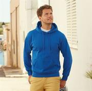 Premium 70/30 hooded sweatshirt
