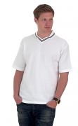 UC108 Johnny Collar V-Neck Pique Polo Shirt