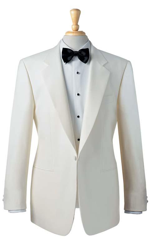 Brook Taverner Eveningwear White Tuxedo