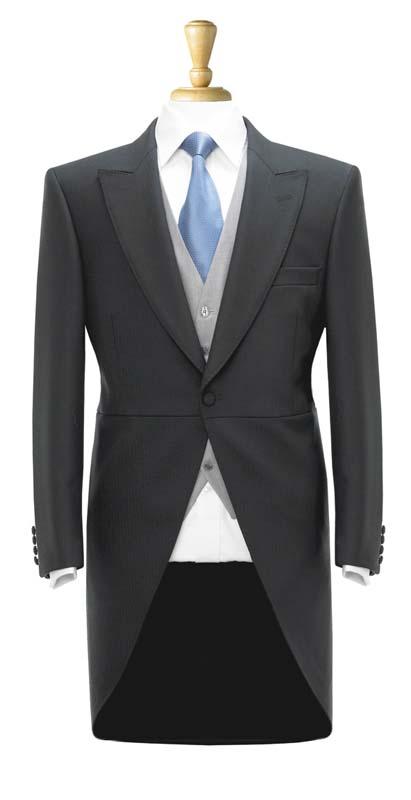Brook Taverner Dresswear Black Tailcoat
