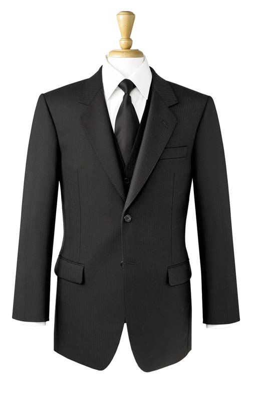 Brook Taverner Dresswear Black Lounge Jacket