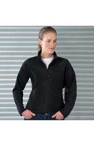 Women's full-zip fitted microfleece