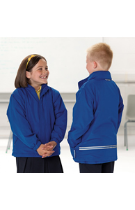 Kids reversible school jacket