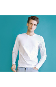 Stretch long sleeve T