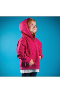 Toddler hooded sweatshirt with kangaroo pocket