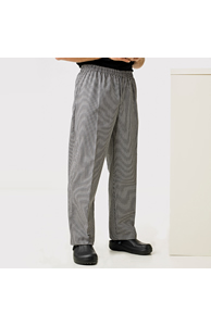Pull-on chef's trouser