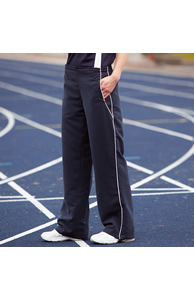 Women's open hem lined tracksuit bottoms