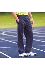 Open hem lined training bottoms