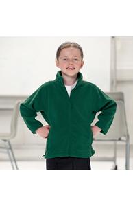 Kids full-zip outdoor fleece