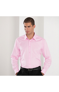 Long sleeve tailored ultimate non-iron shirt