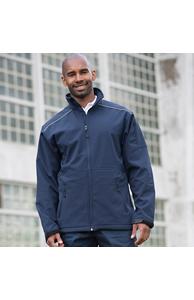 Softshell workwear jacket