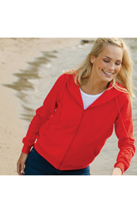 Tagless - Women's Organic Hooded Sweat Jacket