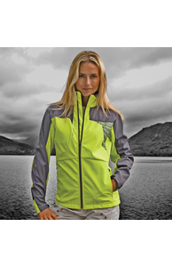 Women's Spiro team 3-layer softshell