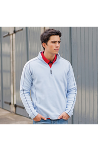 ¼ zip microfleece