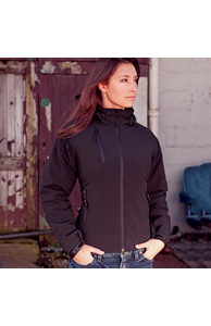 Discovery thermal hooded jacket
