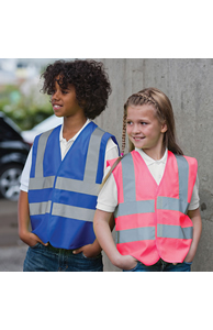 Kids enhanced-visibility vest
