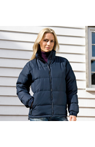 Women's Holkham down-feel jacket