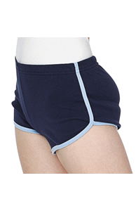 Women's interlock running short (7301)