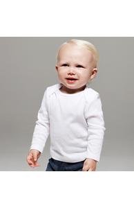 Long sleeve baby rib t-shirt