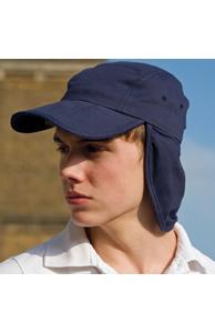 Fold-up legionnaire's cap